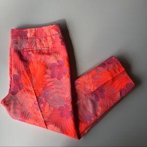 J Crew Collection Jacquard Floral Pant NWOT $198
